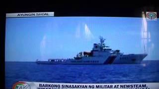 Tv Patrol- Barko Ng Pilipinas Hinarang Ng Chinese Coast Guard
