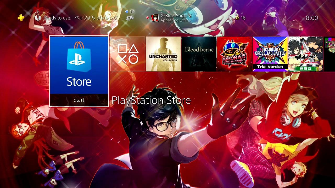 Persona 5 Dancing Star Night Ps4 Theme Youtube