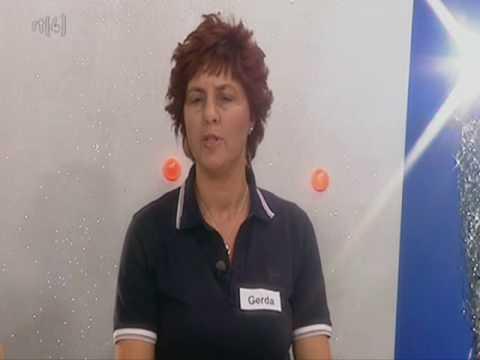 Gerda Smit: 'Alles is weg!' in het RAD VAN FORTUIN in de TV-Kantine