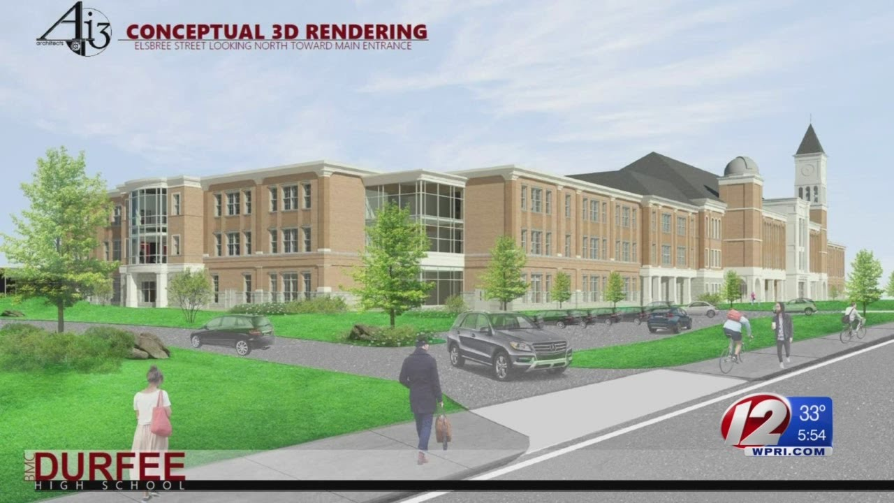 Fall River taxpayers to vote on new Durfee High School