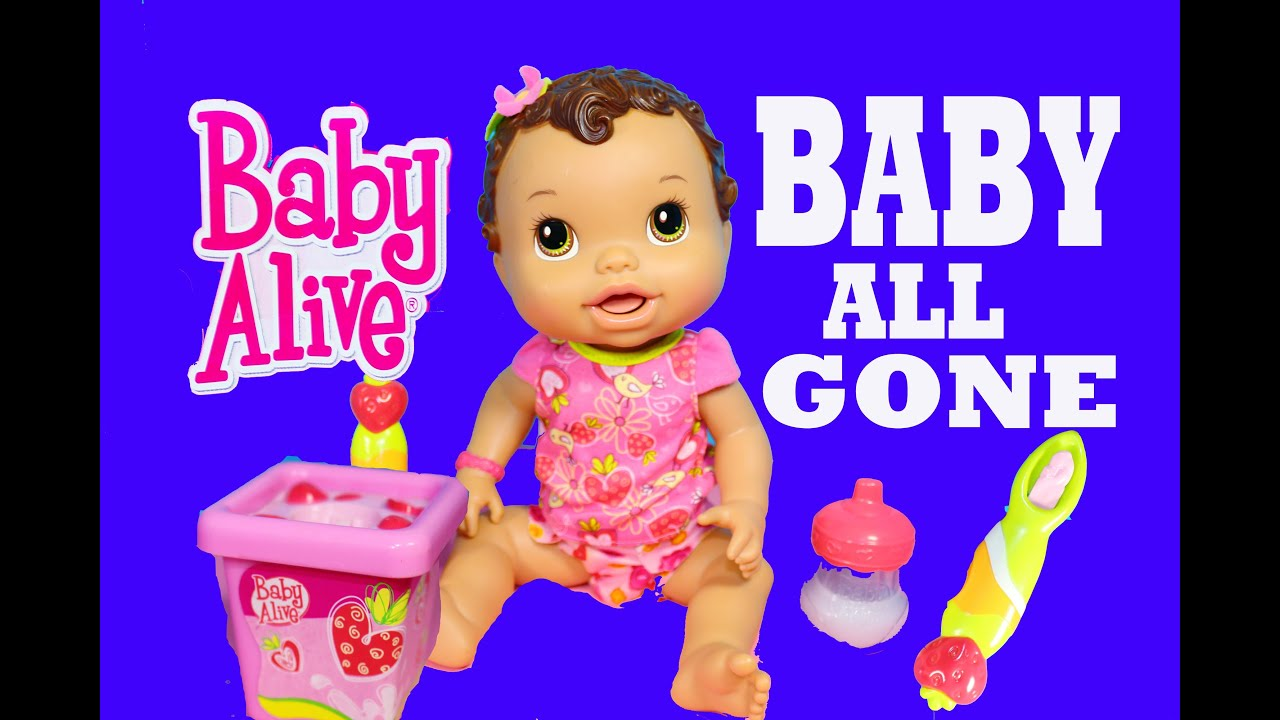 Baby Alive ALL GONE Toy Review w Talking Doll