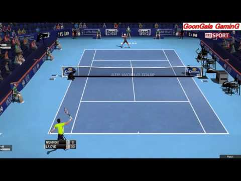 Kei Nishikori - Dusan Lajovic 1st Round | Swiss Indoor Basel 2016 Tennis Elbow 2013 Simulation