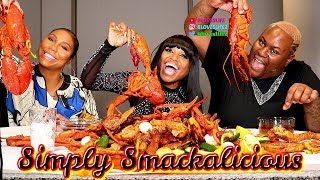 Seafood Boil with Tamar Braxton and James Wright