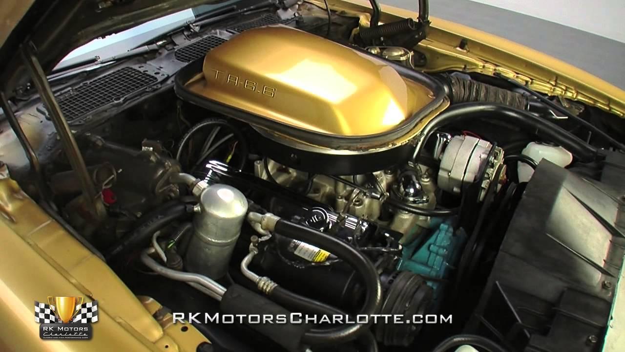 134282 1978 Pontiac Firebird Trans Am YouTube