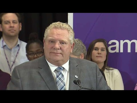 Doug Ford challenged on OSAP changes