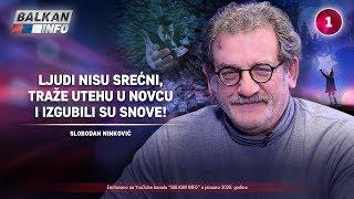 INTERVJU: Boda Ninković - Ljudi nisu srećni, traže utehu u novcu i izgubili su snove! (22.1.2020)
