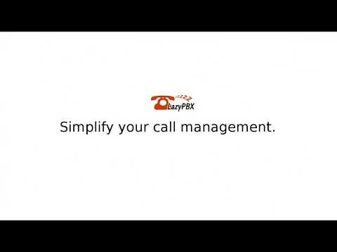 A quick intro to LazyPBX cloud phone solution