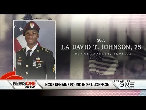 More Remains Of  Sgt. La David Johnson Found In Niger