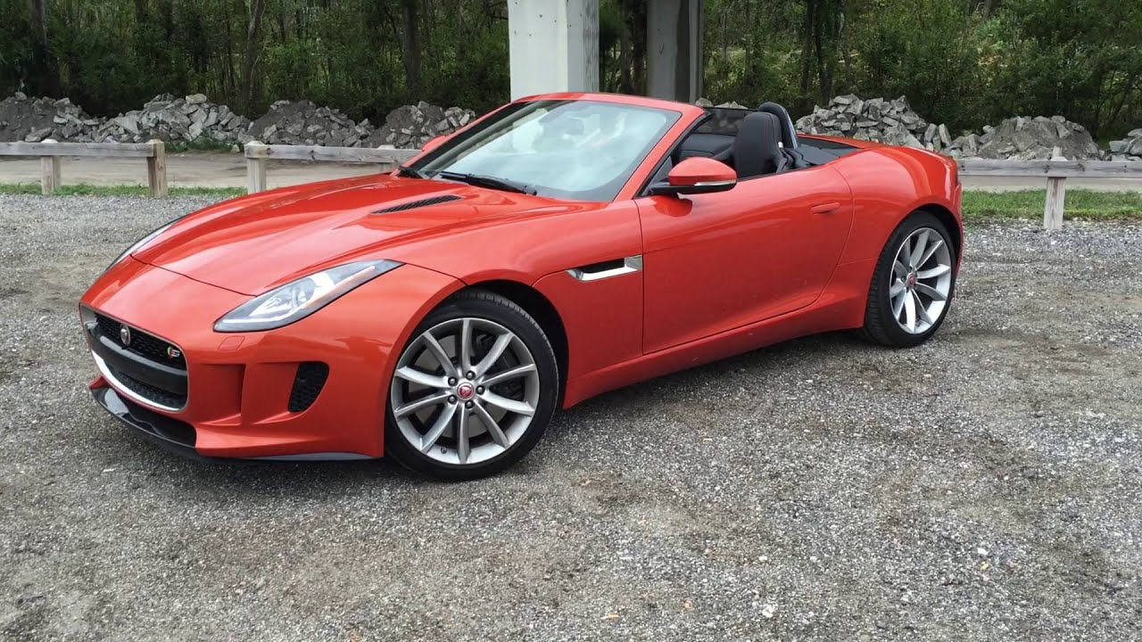 2016 Jaguar F Type S Convertible Driven