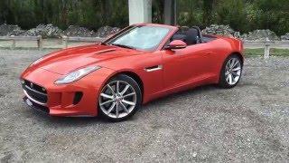 Jaguar F-TYPE Convertible 2016 Videos