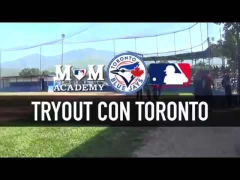 Tryout con Toronto Blue Jays - MM baseball academy