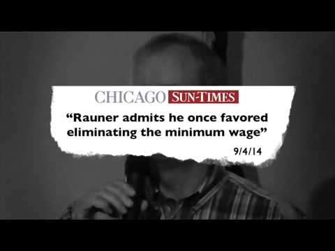 "Quinn for Illinois TV Ad - Bruce Rauner: ""Eliminate Minimum Wage"""