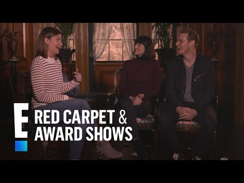 "Sam Heughan & Caitriona Balfe Talk Finding ""Home""  E Red Carpet & Award Shows"