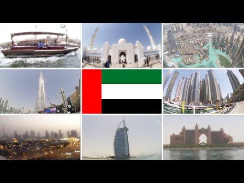 Let's Travel to Dubai & Abu Dhabi, United Arab Emirates! [travel vlog]