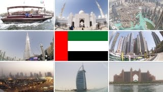 Let's Travel to Dubai & Abu Dhabi, United Arab Emirates! [travel vlog]
