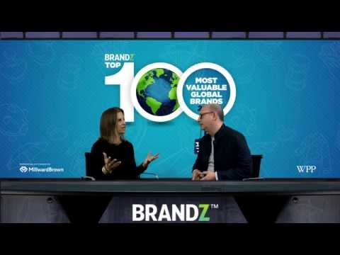 BrandZ 100 Most Valuable Global Brands 2016 | Full David Roth Interview with Jamie Gutfreund