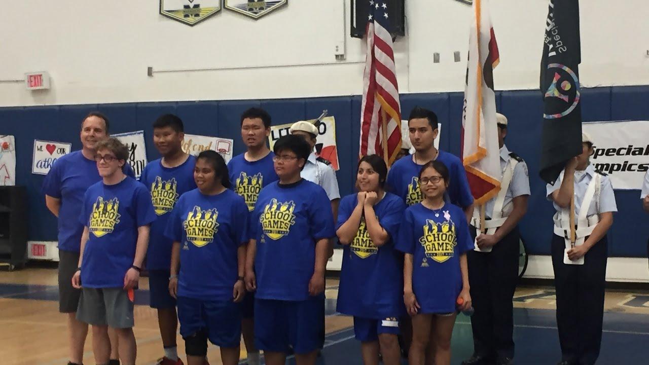 Special Olympics 2017 Mira Mesa High School Basketball  YouTube