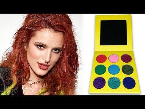 Bella Thorne SLAMS Accusations of Copying Beauty Brand's Eyeshadow Palette - 동영상