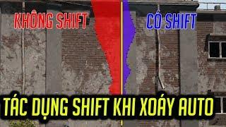tác dụng của việc shift khi bắn auto trong pubg