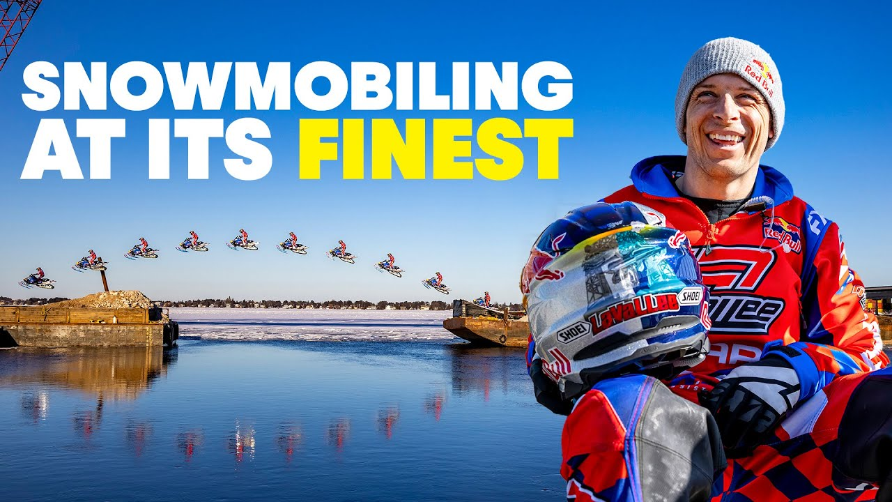 Turning Port City Into A Snowmobile Thrill Ride w/ Levi LaVallee