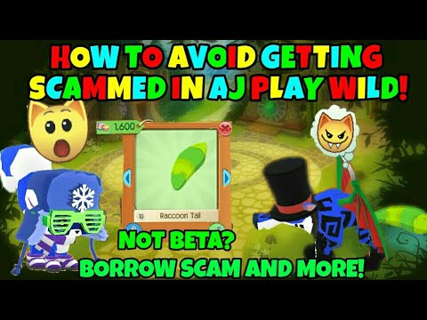 How To Avoid Scams In AJ Play Wild! + New Raccoon Tails?