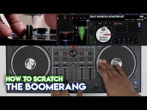 How To Scratch Using DJ Controllers: The Boomerang With DJ Angelo