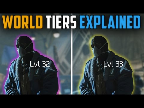 The Division | New World Tiers Explained | Patch 1.4