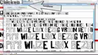 ● Hoe installeer je Fonts op Windows 7? [NL]