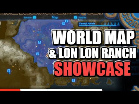 World Map Lon Lon Ranch Reaction For Hyrule Warriors Age Of Calamity Youtube