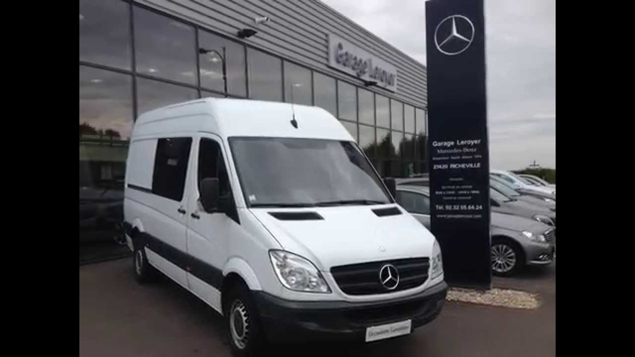 mercedes sprinter fourgon 313 cdi 37s 7 places youtube. Black Bedroom Furniture Sets. Home Design Ideas