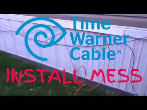 Time Warner Cable ( Spectrum) Install Mess