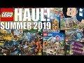 My EPIC LEGO Haul! (RARE LEGO Star Wars Minifigures + Summer 2019 Sets!)
