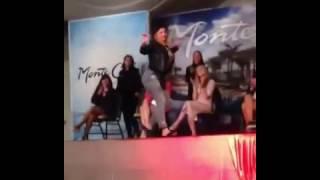 Анна Алхимова которая снялась в клипе Неангелы -Серёжа шикарно танцует!!!