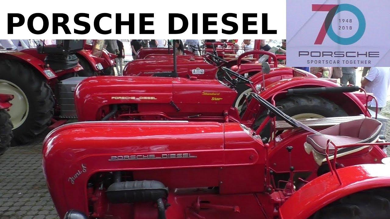 70 jahre porsche stuttgart sportscar together 2018 porsche diesel traktoren classic tractors. Black Bedroom Furniture Sets. Home Design Ideas