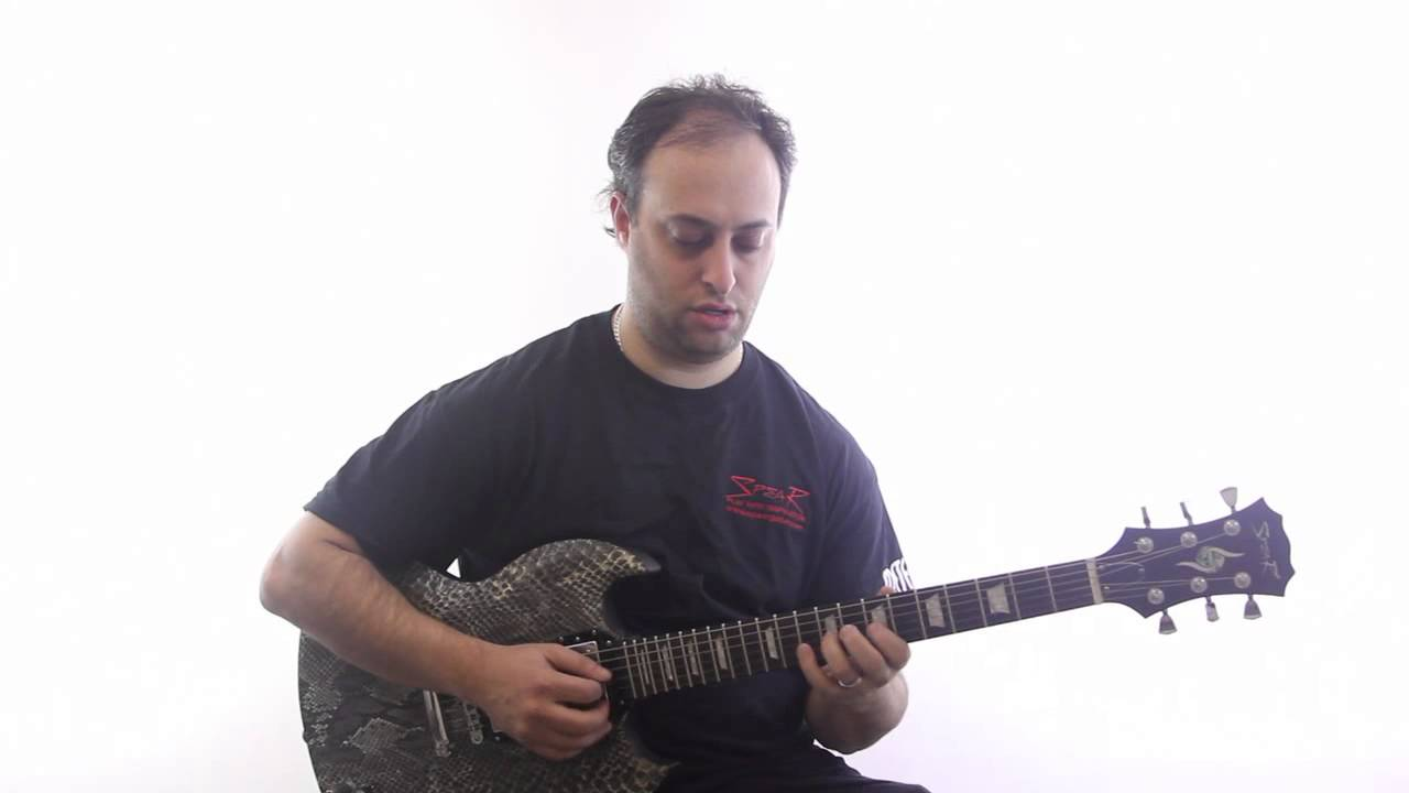 cool guitar exercise with scales and arpeggios easy lead guitar lesson youtube. Black Bedroom Furniture Sets. Home Design Ideas