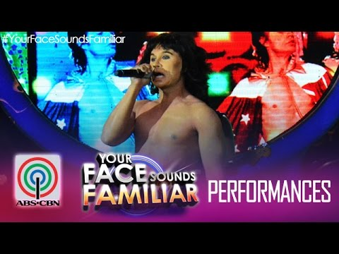 """Your Face Sounds Familiar: Tutti Caringal as Mick Jagger - """"(I Can't Get No) Satisfaction"""""""