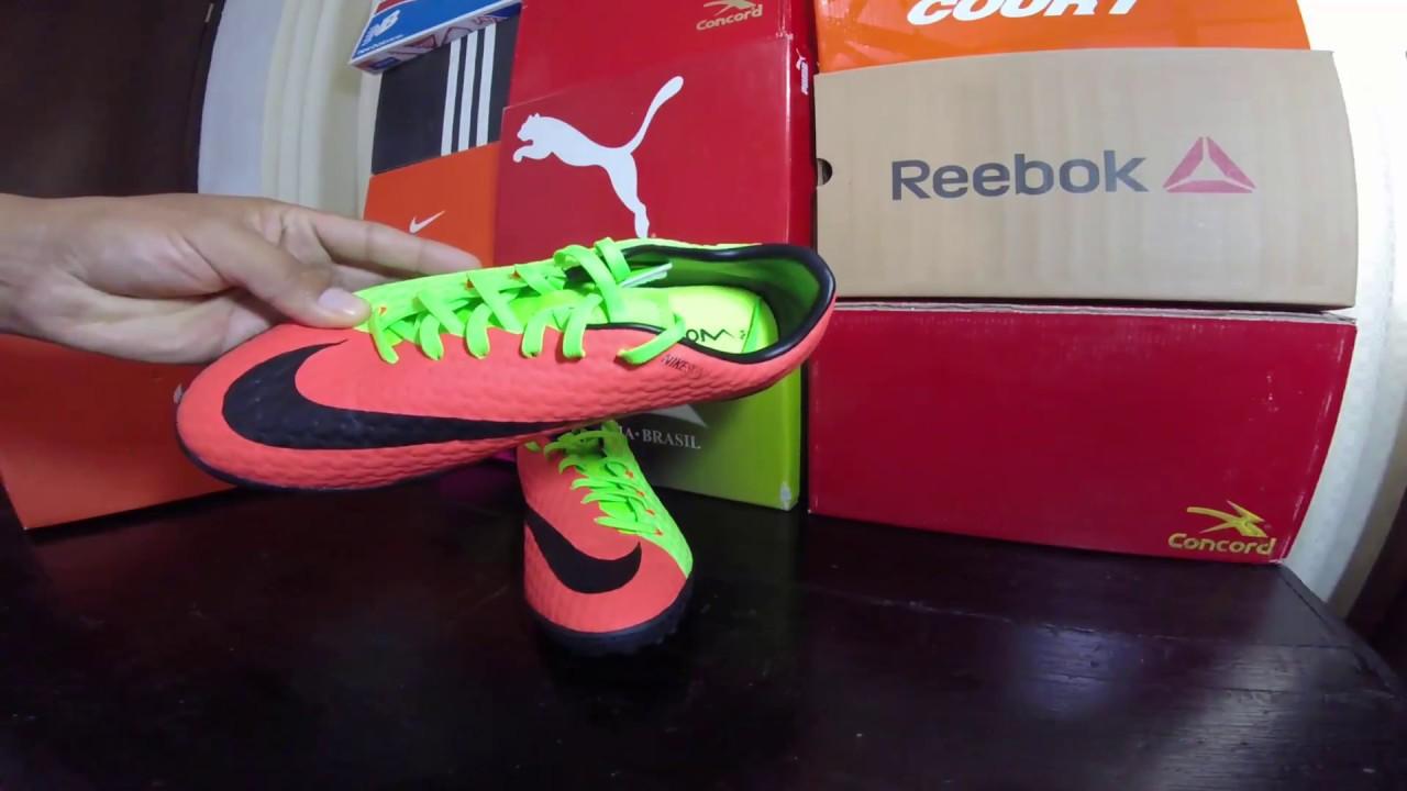 brand new 1f3cb ee7f6 Nike Hypervenom X Phelon III TF (Verde Electrico - Naranja Volt   Electric  green - Orange-Volt)