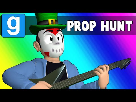 Gmod Prop Hunt Funny Moments - Teaching LEGIQN to Hunt! (Garry's Mod)