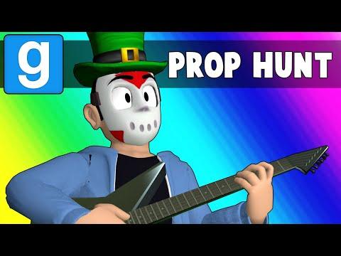 Gmod Prop Hunt Funny Moments - Daithi the Teacher! (Garry