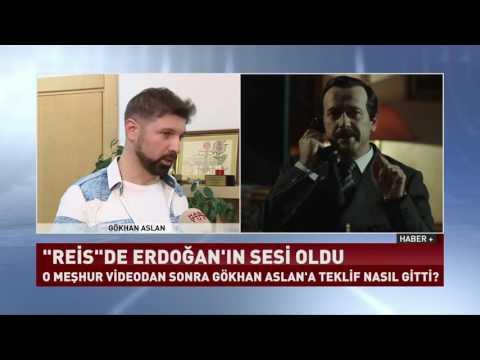 Gökhan Aslan Cumhurbaşkanı Erdoğan'ın sesini taklit etti