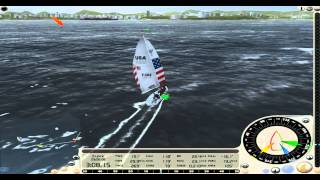 Virtual Skipper 5. Melges Cup, Season 1, Race 3
