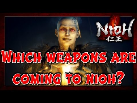What new weapons are coming to Nioh? Nioh DLC Dragon of the North