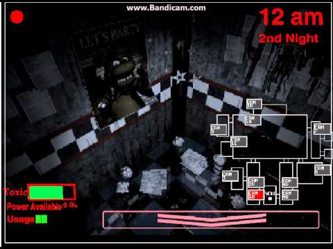 Five Nights At Freddys 4 (Scratch Edition) So Scary!! (BONNIE!!!!!!!!!)