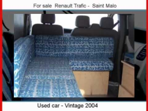 sale one renault trafic saint malo youtube. Black Bedroom Furniture Sets. Home Design Ideas