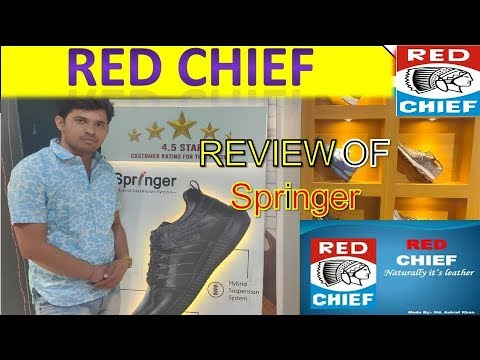 Red Chief । New Launch SPRINGER SHOES REVIEW AND ANALYSIS BY SAURABH SHARMA