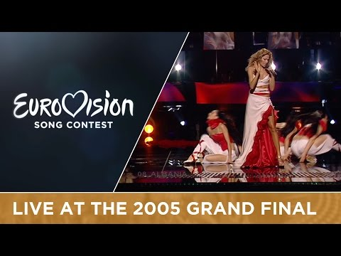 Ledina Celo - Tomorrow I Go (Albania) Live - Eurovision Song Contest 2005