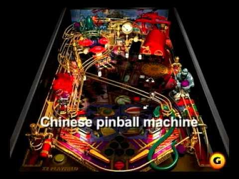 Chinese pinball machine (Livhson)