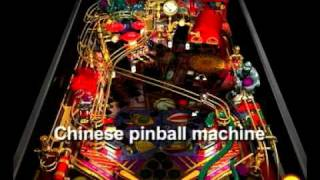 Chinese pinball machine (Livhson)