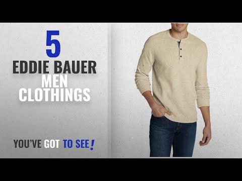 Top 10 Eddie Bauer Men Clothings [ Winter 2018 ]: Eddie Bauer Men's Eddie's Favorite Thermal Henley