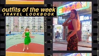 Outfits of the Week | Travel Lookbook | Hong Kong & Malaysia